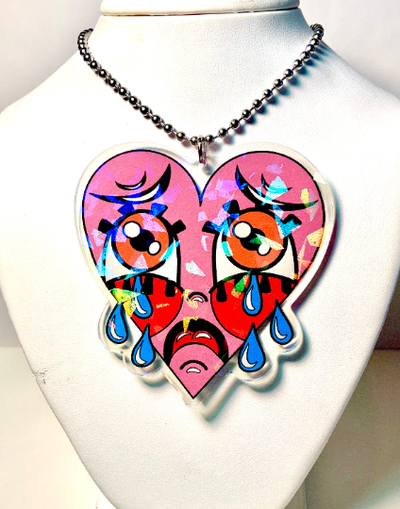 Image of Large Crybaby Ball-Chain Necklace