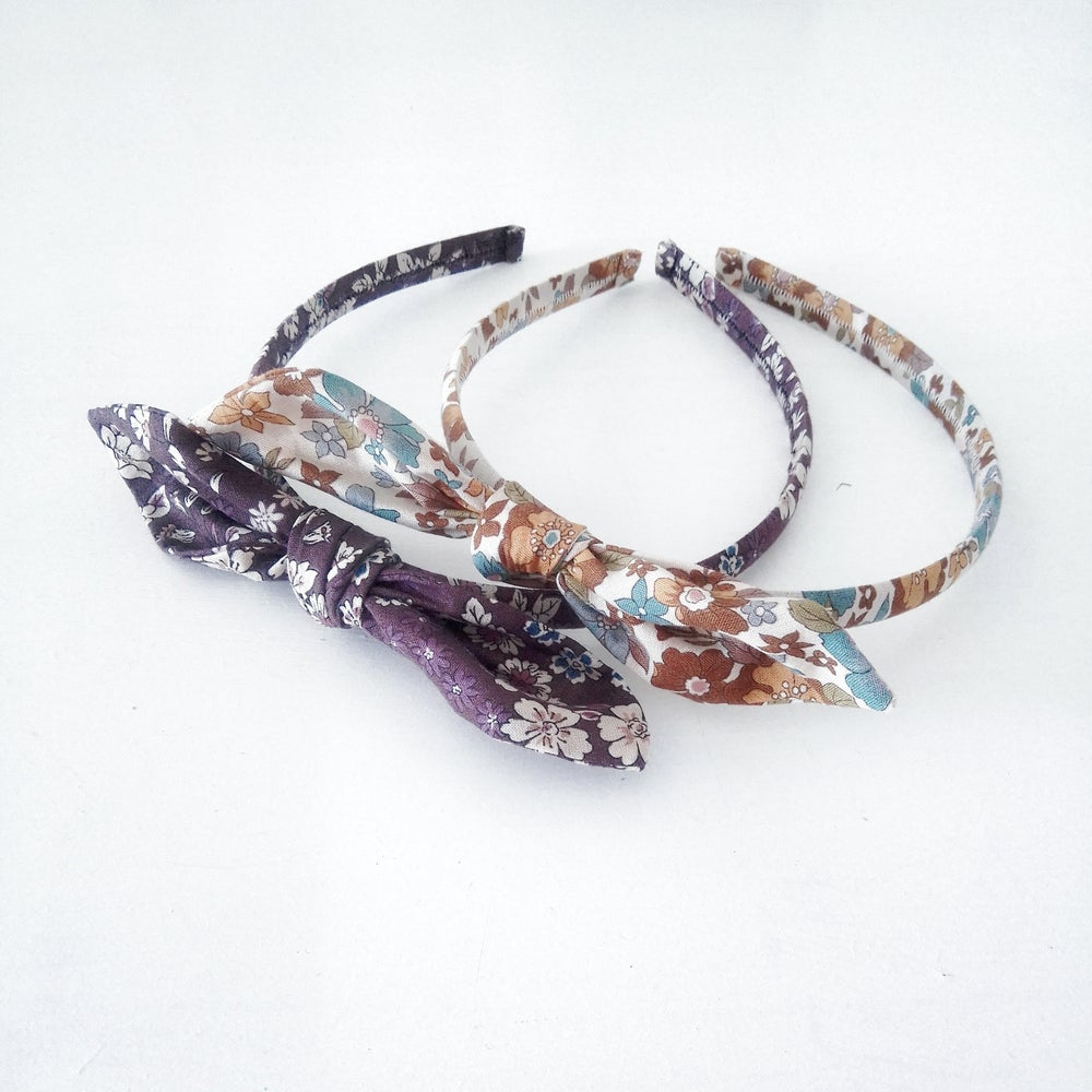 Image of Fabric Covered Head Band