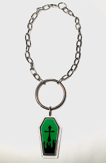 Image of Coffin O-Ring Choker