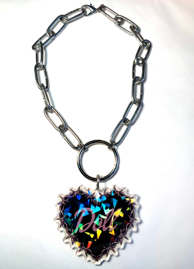 Image of Doll O-Ring Necklace