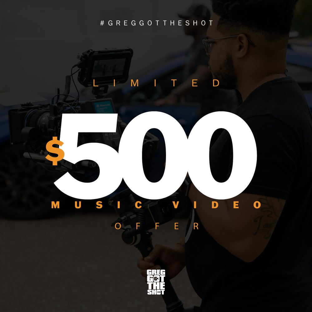 Image of $500 Music Video Special