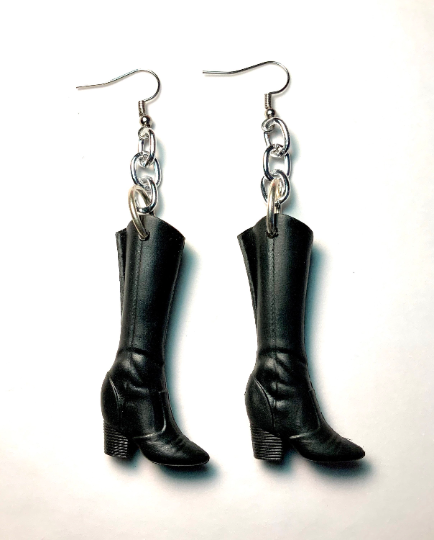 Image of Barbie Boots Earrings