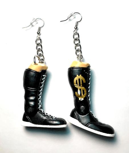 Image of Wrestler Sneaker Boots Earrings