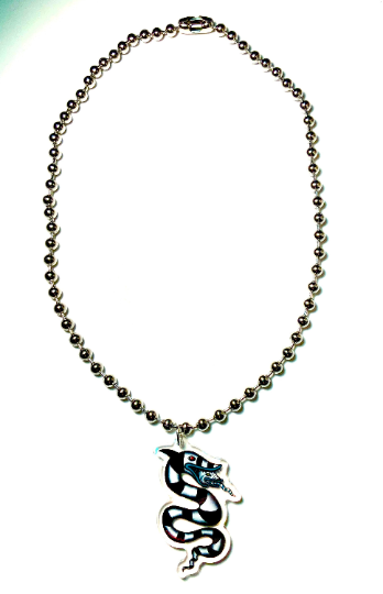 Image of Beetlejuice Sandworm Ball-Chain Necklace