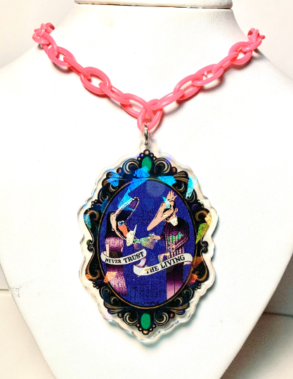 Image of Beetlejuice Cameo Necklace