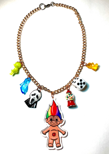 Image of 90's Baby Charm Necklace