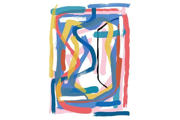 Image of Bram Van Velde - Gift Wrap