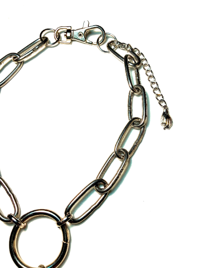 Image of Skeleton Mermaid O-Ring Choker