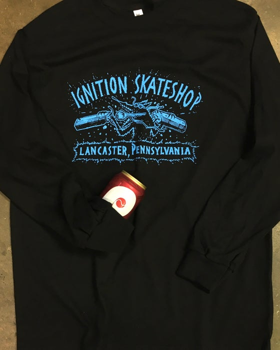 Image of CONCRETE CRITTER LONG SLEEVE TEE
