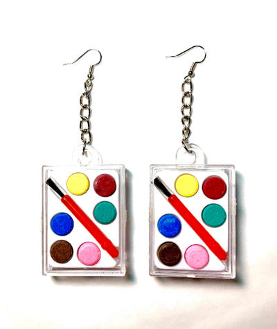 Image of Mini Paint Set Earrings
