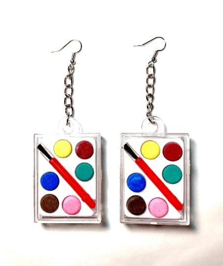 Image of Mini Paint Set Earrings