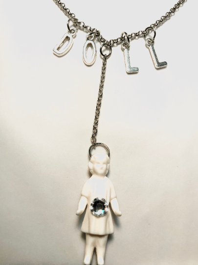 Image of Victorian Doll Necklace