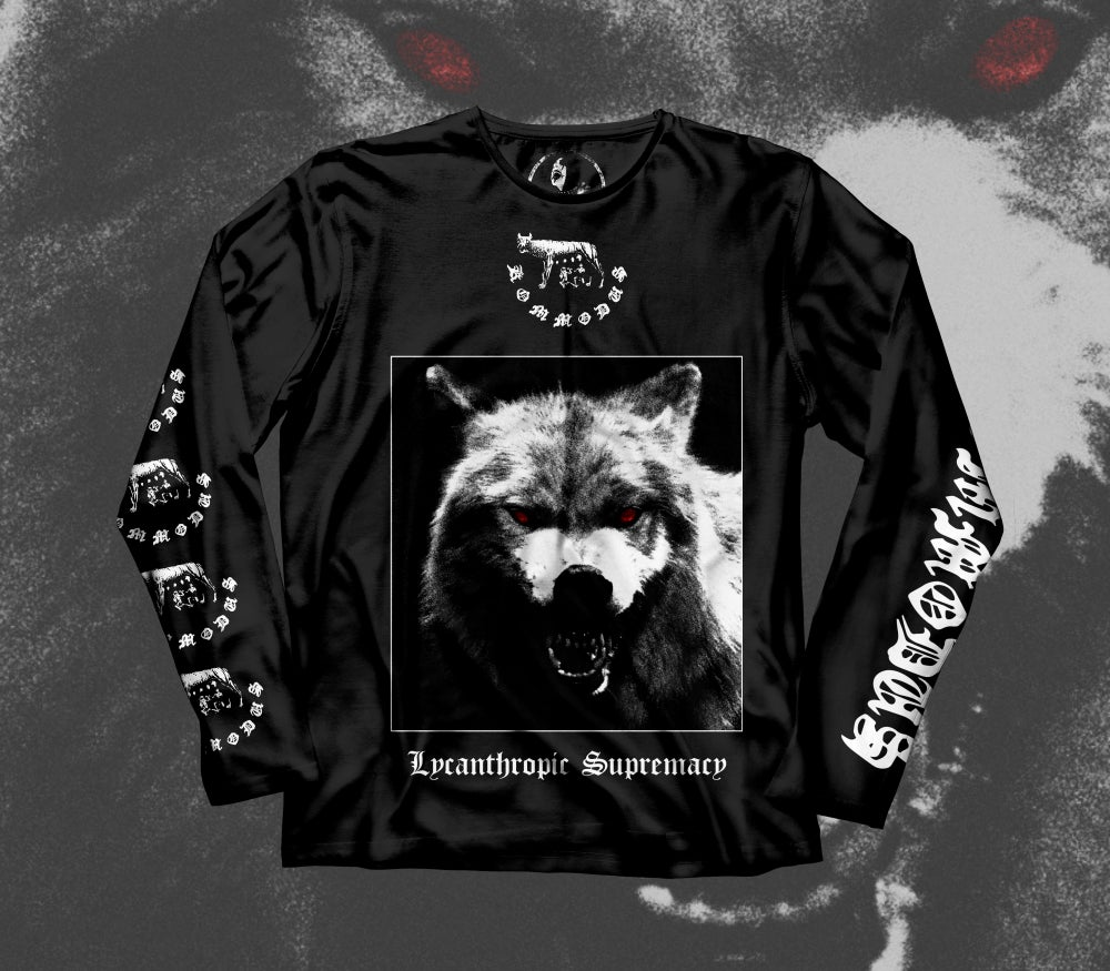 "Kommodus ""Lycanthropic Supremacy"" Long-sleeve"