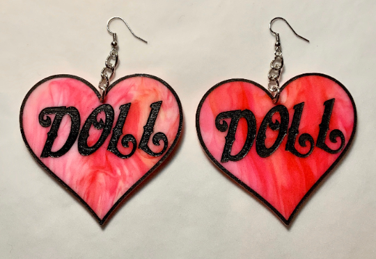 Image of Crybaby Heart Earrings