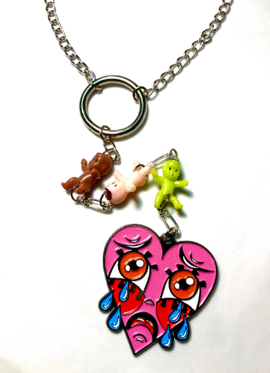 Image of Crybaby Rosary Necklace
