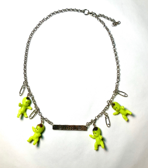 Image of Witch Baby Chain Necklace