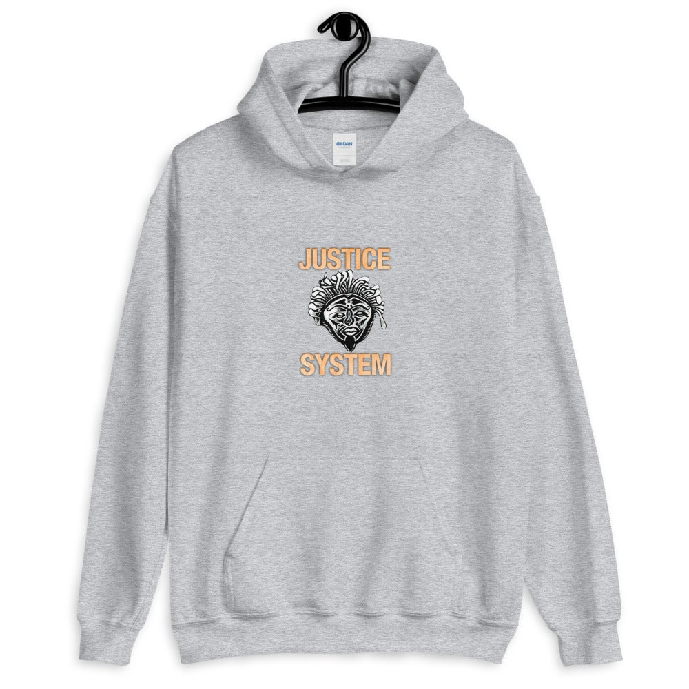 Image of Justice System Mascot Unisex Hoodie