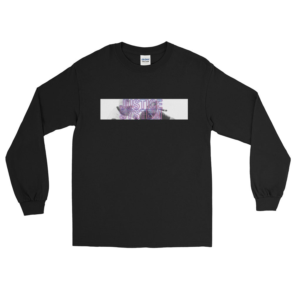 Image of Justice System - The Emcee's Men's Long Sleeve Shirt