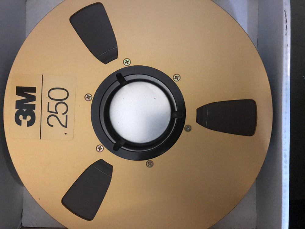 "Image of 3M 250 2"" X 2500' REEL TO REEL MASTER TAPE - ONE PASS WITH LEADER"