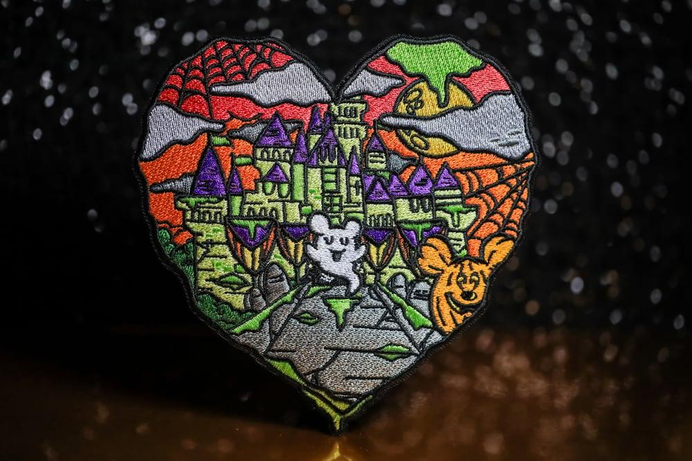 Halloween Castle Love JUMBO Patch