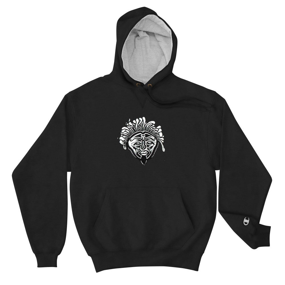 Image of Justice System Mascot Face Champion Hoodie
