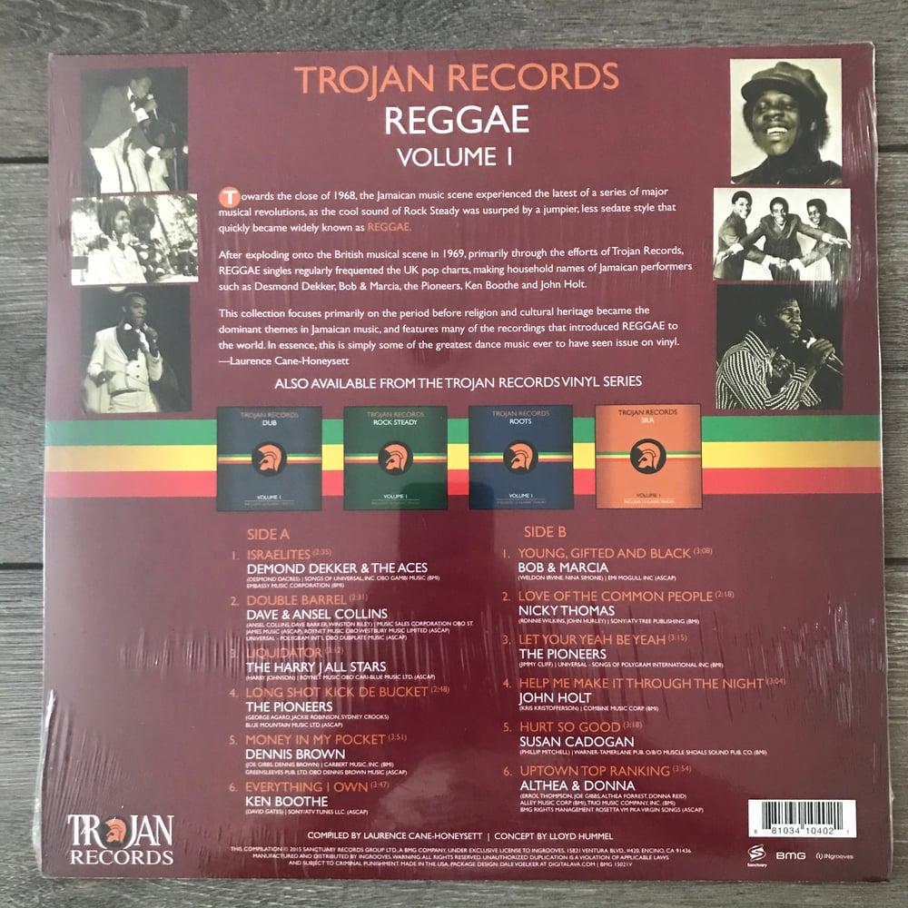 Image of Trojan Records - Vol 1 Reggae Vinyl LP