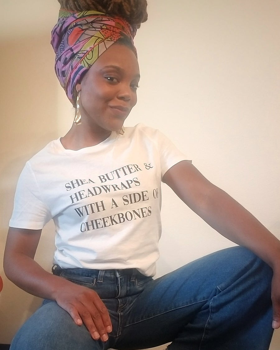 Image of SHEA BUTTER & HEADWRAPS - TEE
