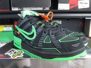 "Image of Air Rubber Dunk x OFF--WHITE ""Green Strike/Blk"""