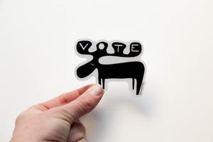 Image of Moose Vote Sticker