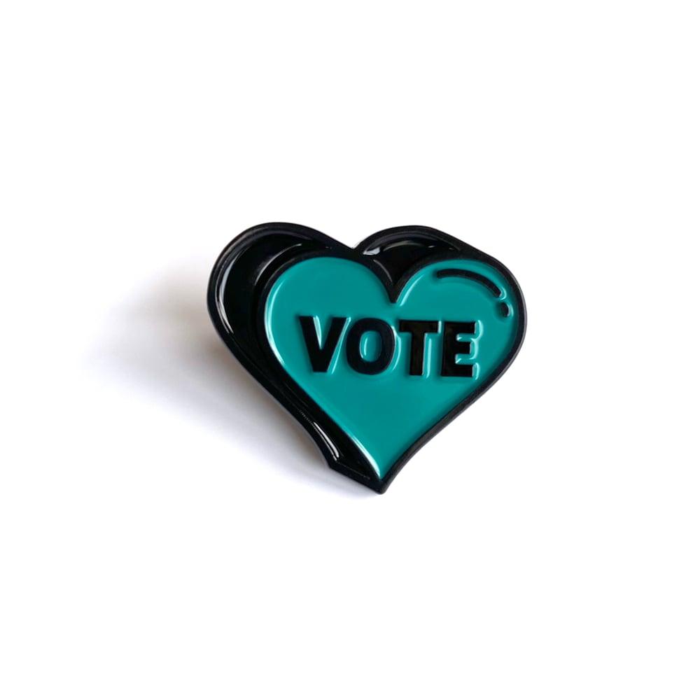 Vote Sweetheart Enamel Pin