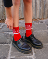 Save Our Planet Socks (Red)