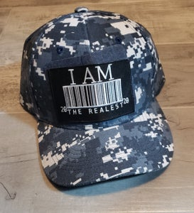 Image of I am the Realist Denim Patch Cap