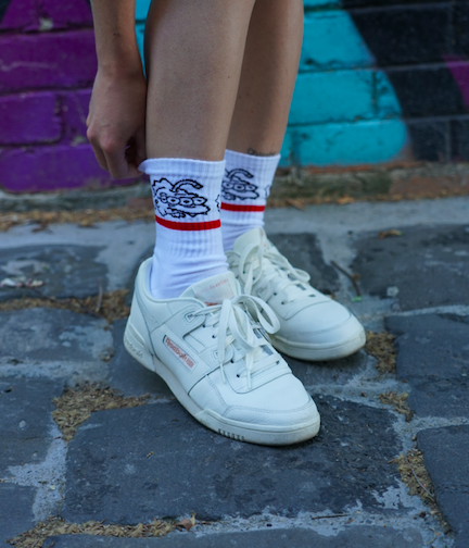 Image of Save Our Planet Socks (White)