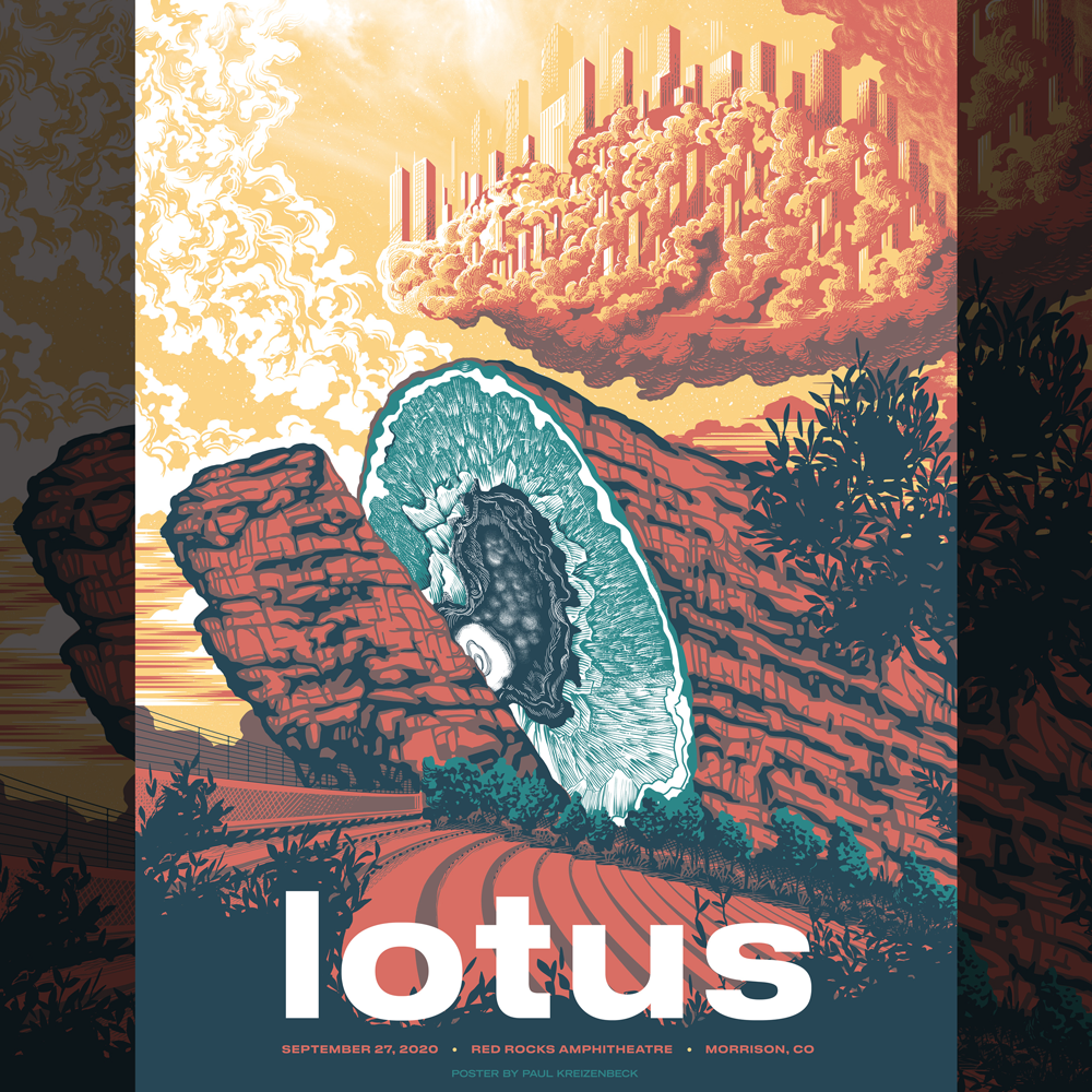 Image of Lotus Red Rocks 2020