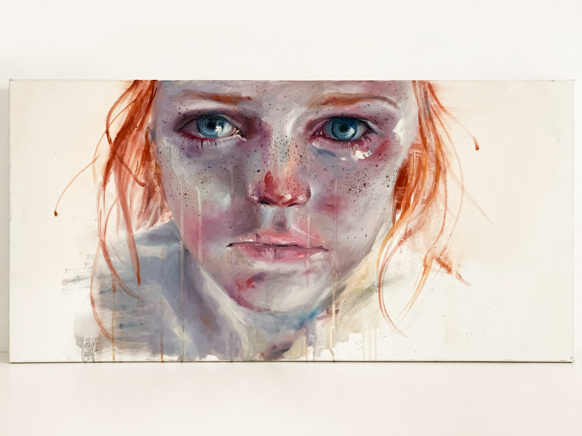 Agnes-Cecile my eyes refuse to accept passive tears
