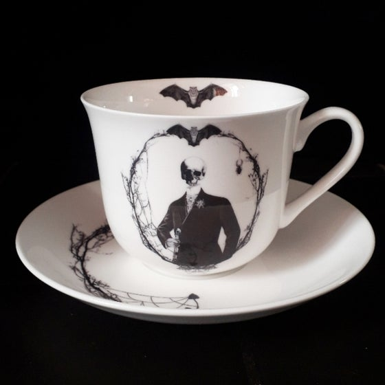 Image of Maurice teacup and saucer
