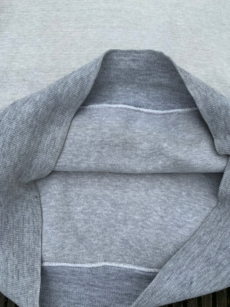 Image of 50s double face two tone sweatshirt