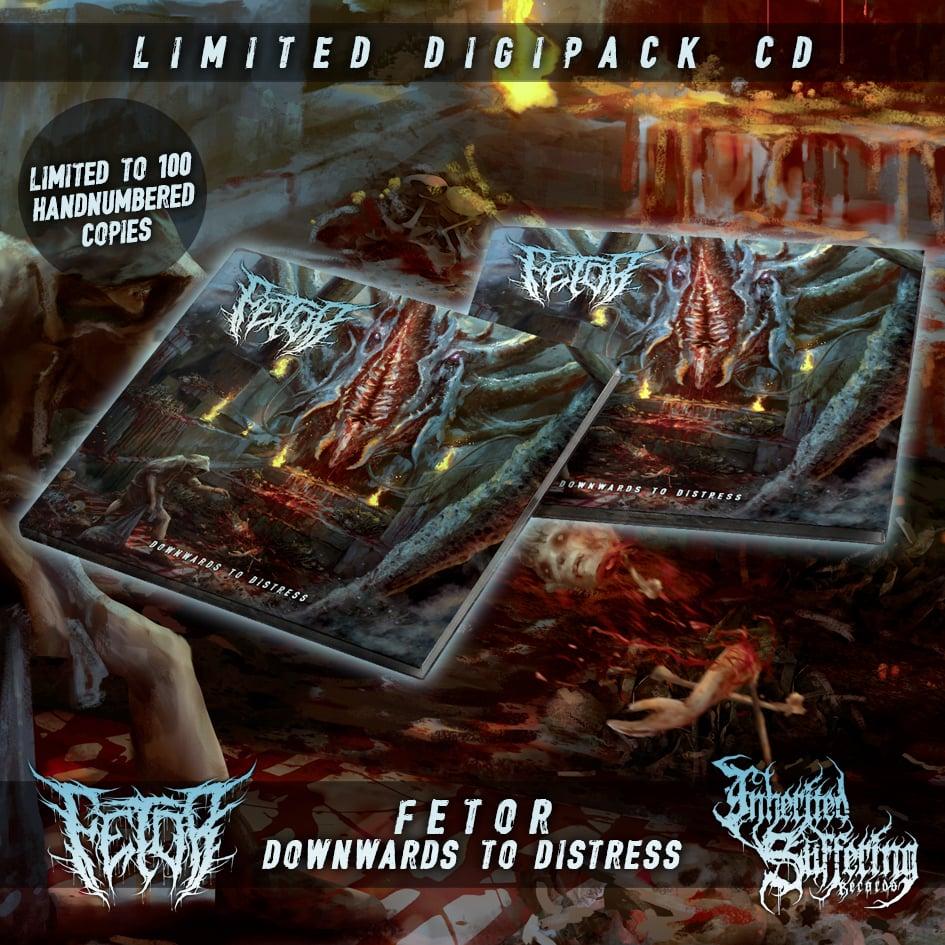 Image of Fetor - Downwards To Distress - Limited Digipack CD
