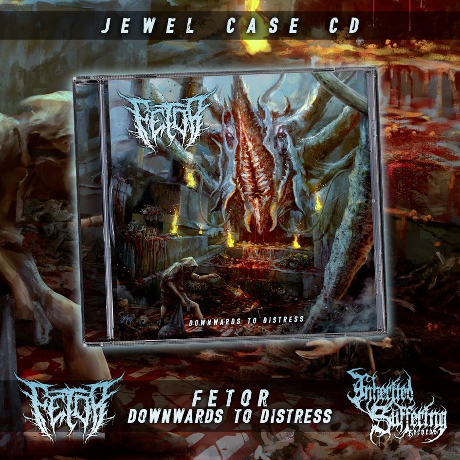 Image of Fetor - Downwards To Distress - Jewel Case CD