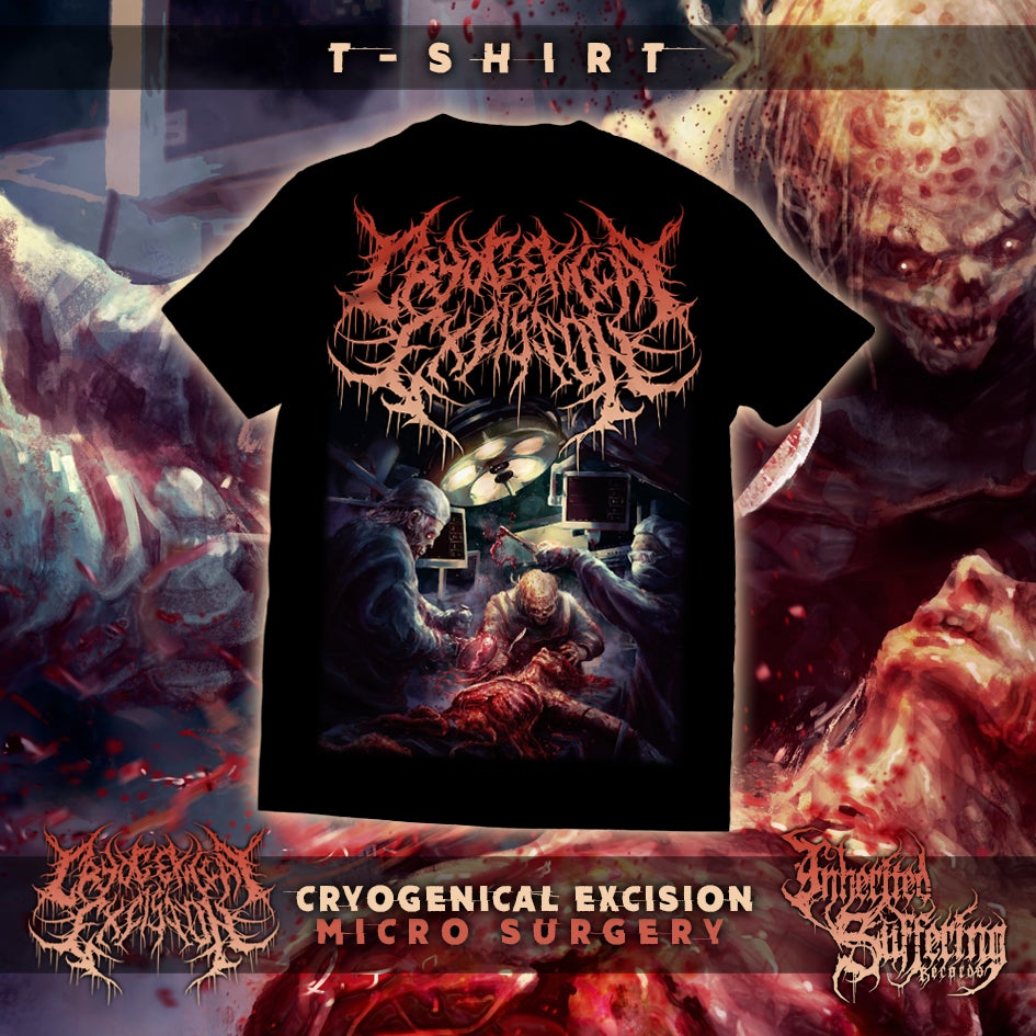 Image of Cryogenical Excision - Micro Surgery - T-Shirt