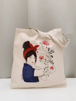 Image of Bolsa Bread & Roses Lady Desidia