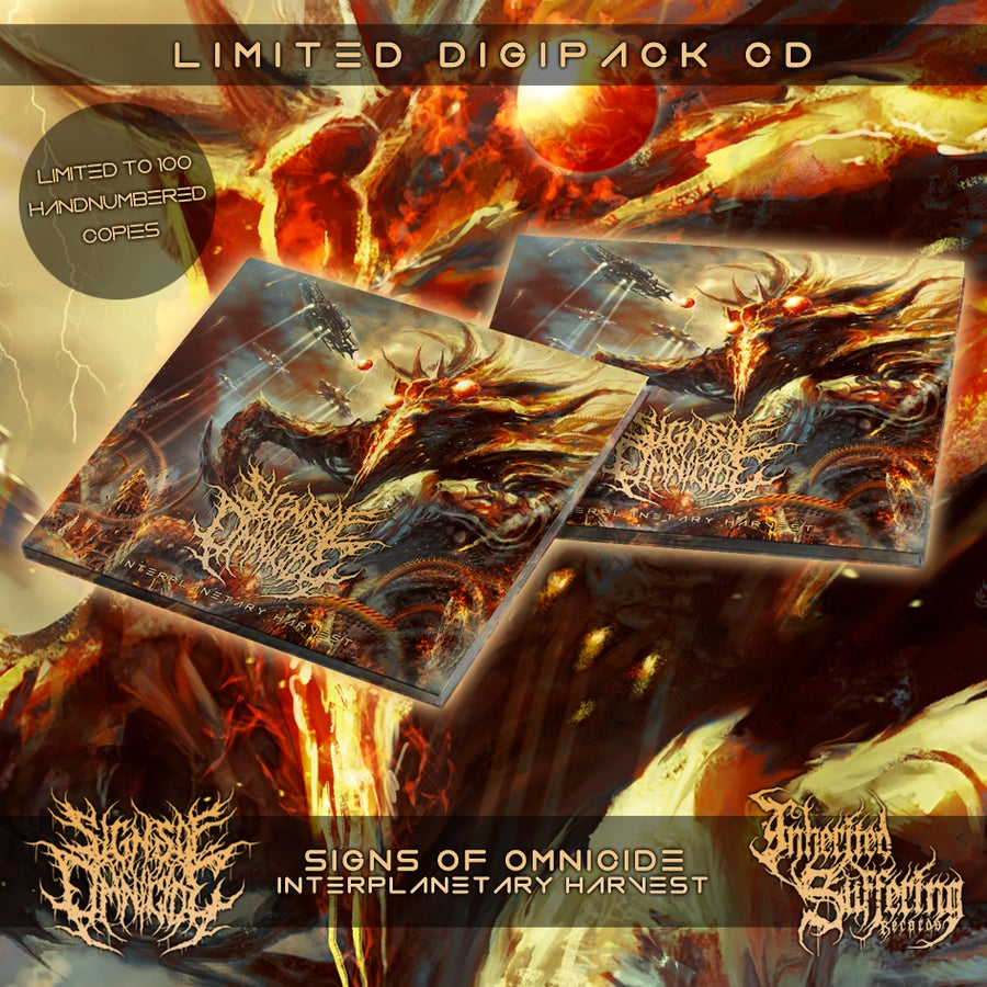 Image of Signs Of Omnicide - Interplanetary Harvest - Limited Digipack CD