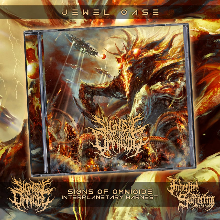 Image of Signs Of Omnicide - Interplanetary Harvest - Jewel Case CD