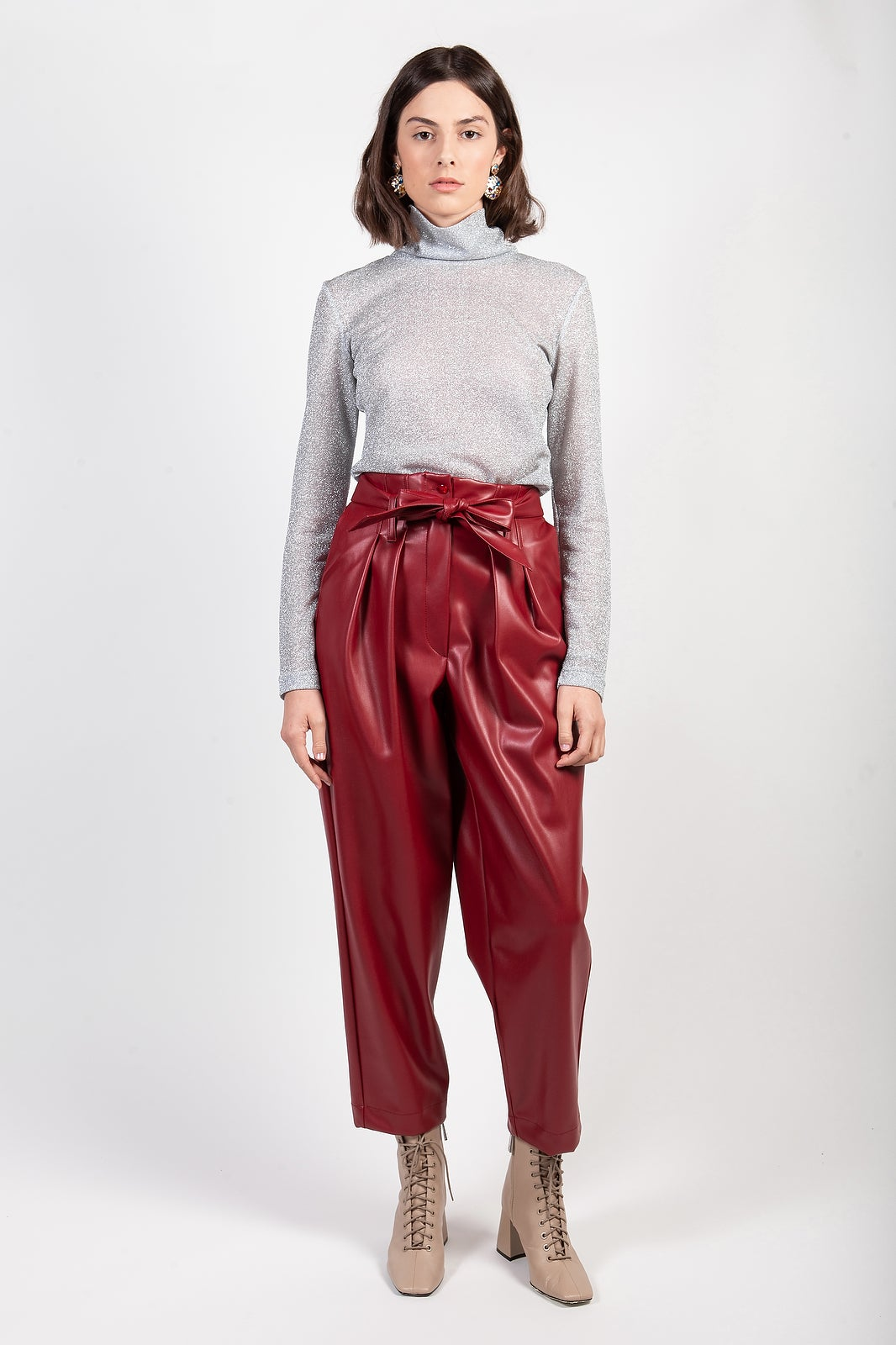 Image of PILLY ECOPELLE ROSSO €169 - 30%