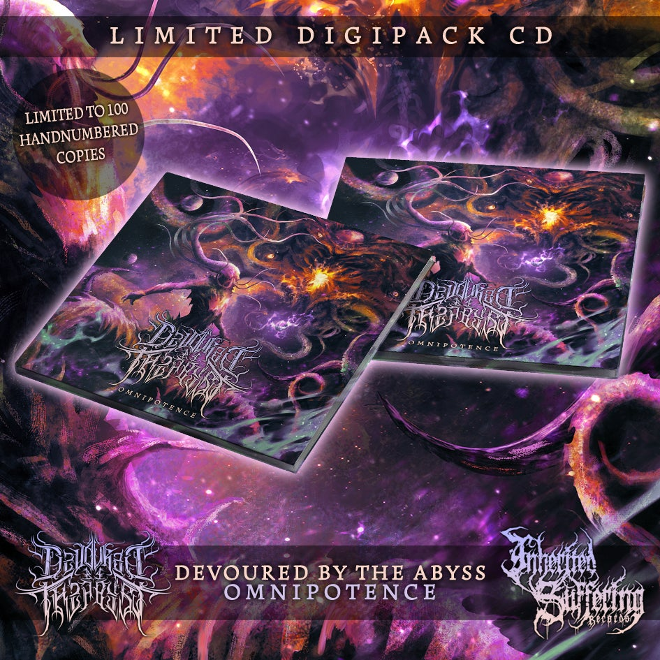 Image of Devoured By The Abyss - Omnipotence - Limited Digipack CD