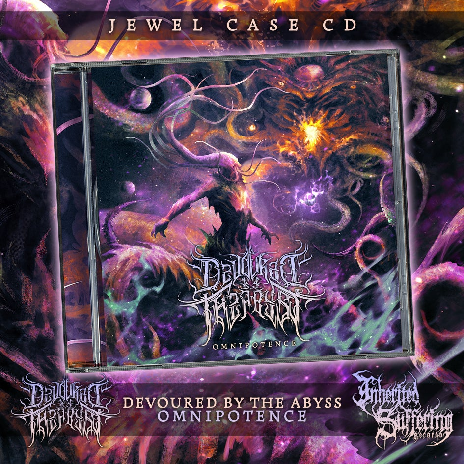 Image of Devoured By The Abyss - Omnipotence - Jewel Case CD