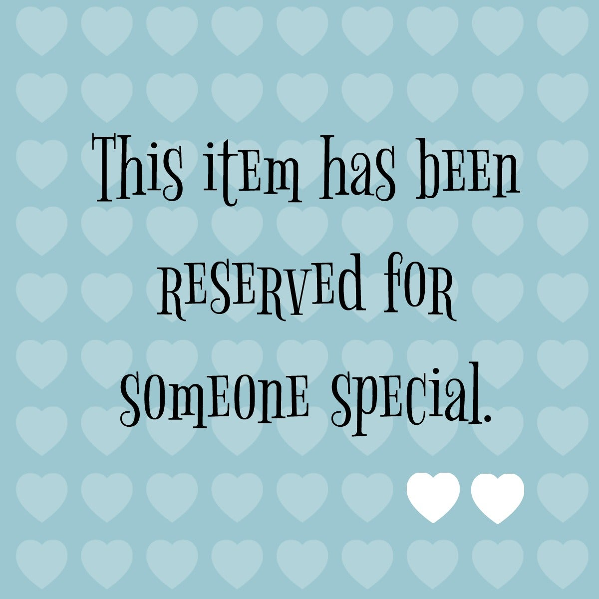 Image of reserved for erica