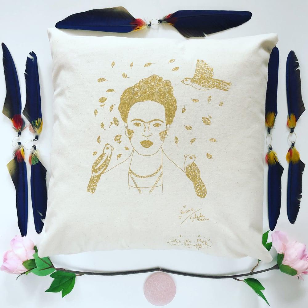 Image of Coussin *Frida Kahlo* 40x40cm