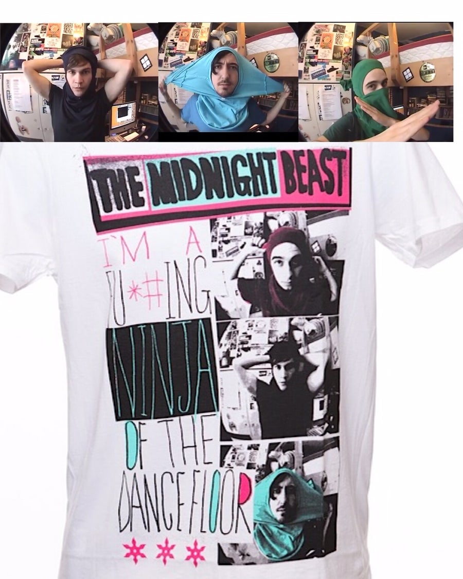 Image of NINJA OF THE DANCE FLOOR TEE
