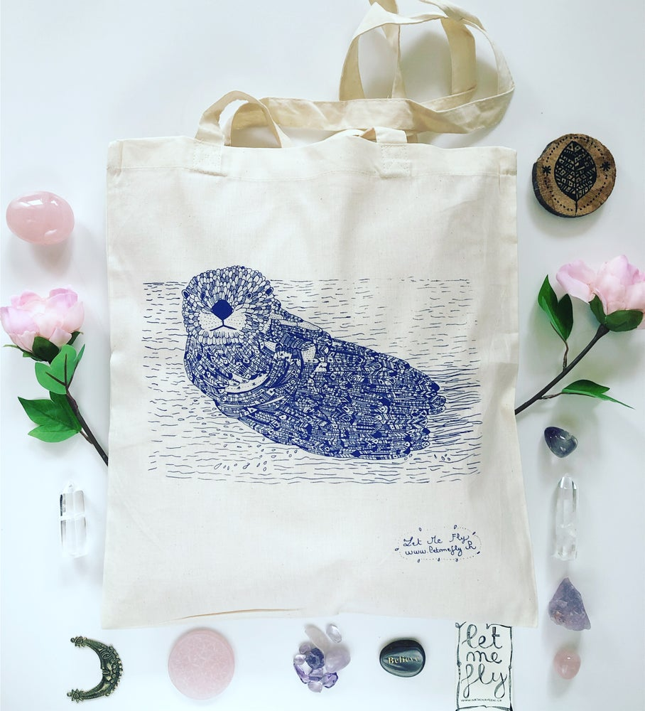 Image of Tote Bag *Loutre*